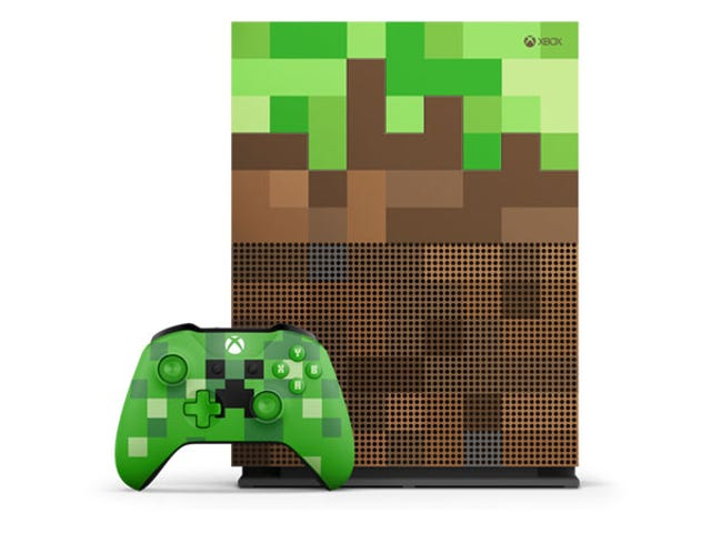 Olhe para este Xbox One com um tema oficial de Minecraft