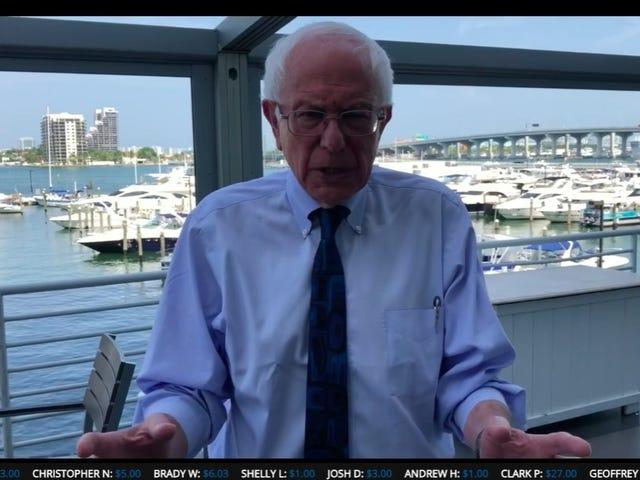 Bernie Sanders' New Twitch Channel Needs Fewer Campaign Ads, More Bernie Sanders