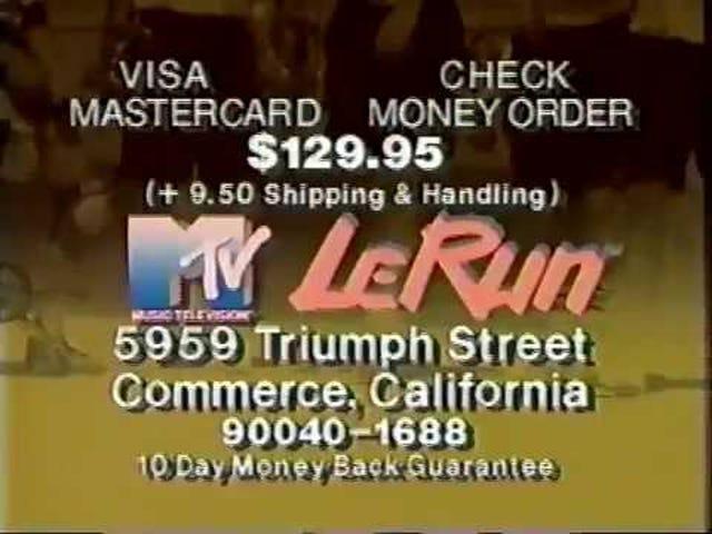 MTV LeRun. Do you have an MTV mind?