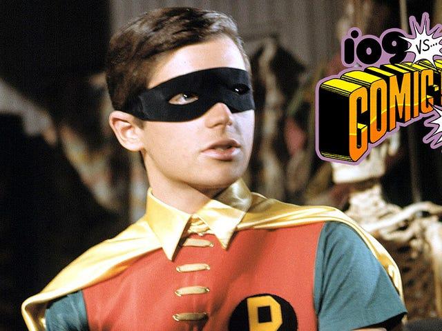 Holy Cavalcade of Cameos, Batman!  Burt Ward blir med i CWs krise mot uendelig jordovervåkning