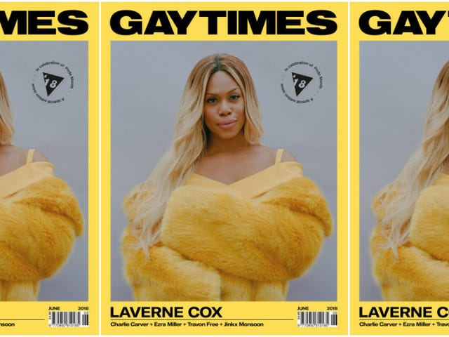 #WCW: Laverne Cox Is Beauty Goals on Gay Times' Special Pride Edition