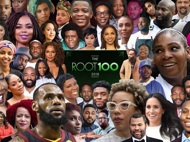 """रूट 2018 के सबसे प्रभावशाली अफ्रीकी अमेरिकियों की """"द रूट 100"""" सूची प्रस्तुत करता है"""