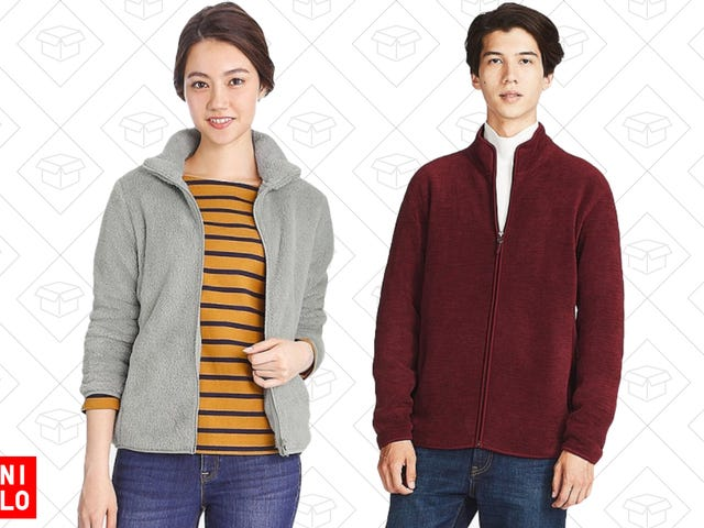 Grab a Uniqlo Fleece For $15, Plus Free Shipping On Everything