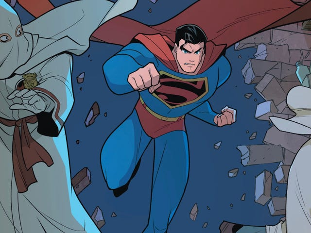 Superman Smashes The Klan explores history through a superhero lens