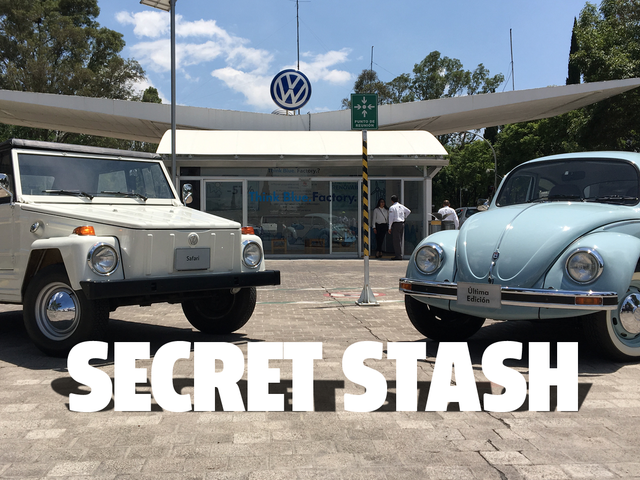 Finalmente ho potuto vedere la collezione di auto segrete della Volkswagen del Messico