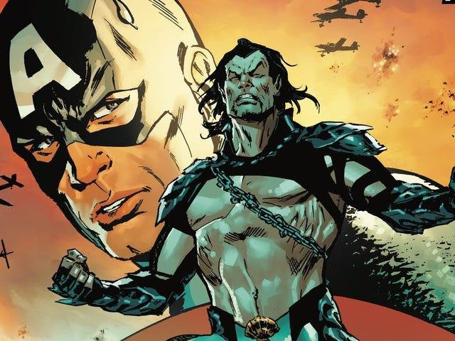 Namor atau gua di bawah beban perang dalam preview eksklusif Invaders # 1 ini