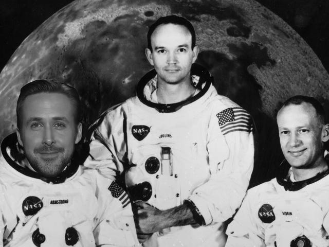 Ryan Gosling Is Going to the Moon