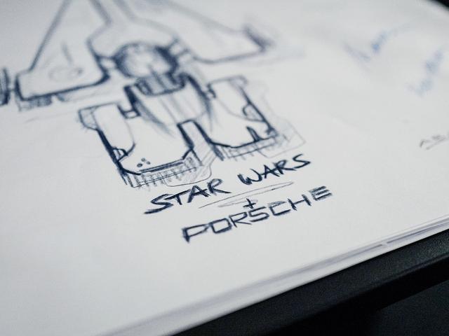 Porsche e Lucasfilm se unem para projetar uma nova nave espacial de Star Wars
