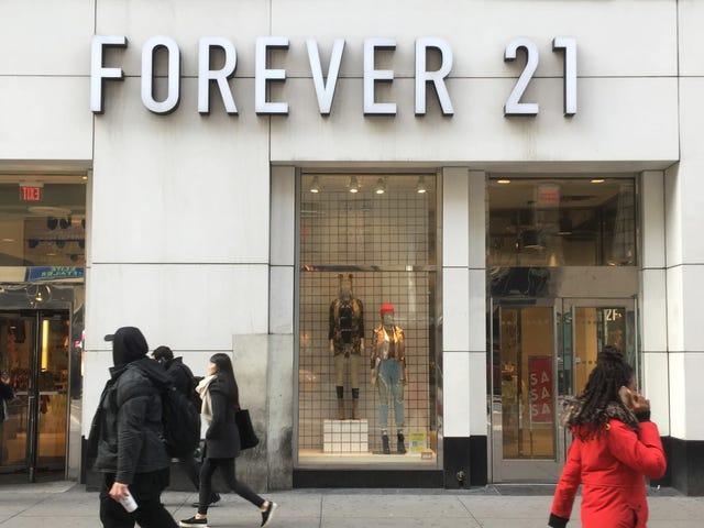 Οι μέρες του Forever 21 είναι αριθμημένες;  Το λιανικό εμπόριο ταχείας μόδας γίνεται το τελευταίο στην περίπτωση της πτώχευσης οφθαλμών