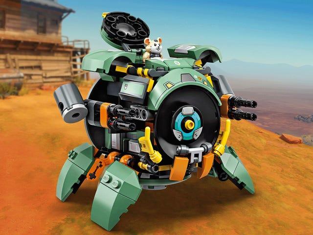 Bu Yeni Lego Overwatch Çöp Kutusuna Göz At