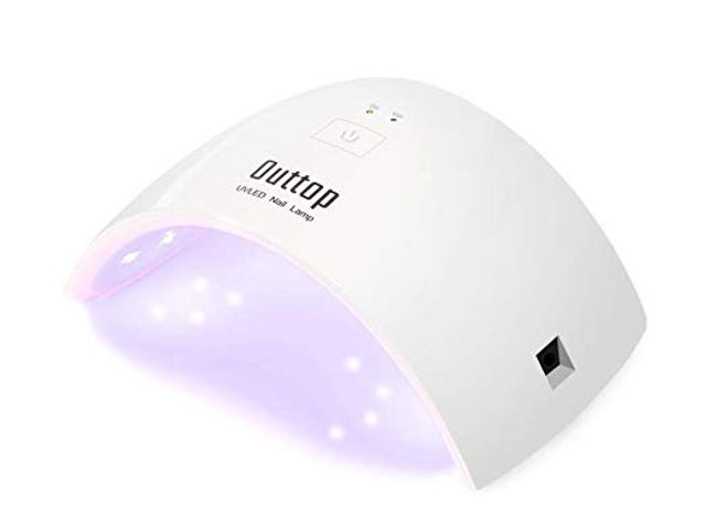 50% off- OUTTOP 36W Professional LED Nail Dryer, Portable Mini Nail Curing Lamp with Automatic Sensor $12.99