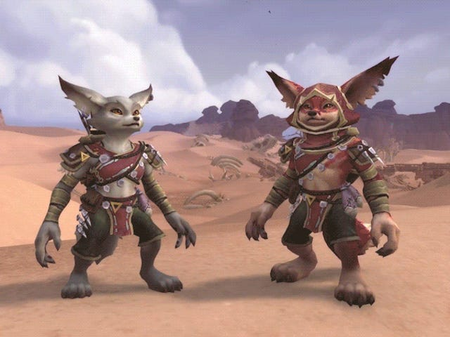 World Next Of Update Warcraft Membawa Fox Boleh Dibaca dan Mechagnome Races