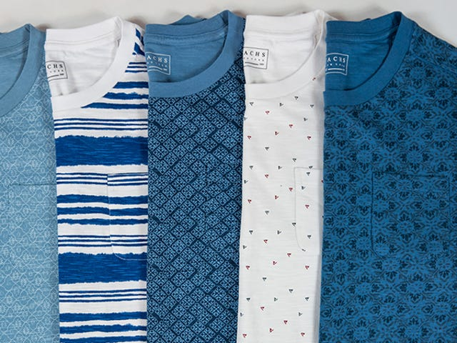 Upgrade Your Basic Tees For Summer With 60% Off From Jachs (From $18)