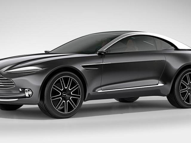 Aston MartinSUV to be called Varekai. Damn it!