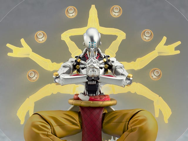 Zenyatta Overwatch Figure Comes With All The Glowing Orbs