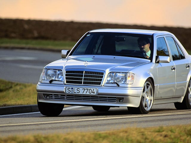 Here Are Some Awesome Archive Photos To Help You Remember The Mercedes-Benz 500E Was Totally Boss