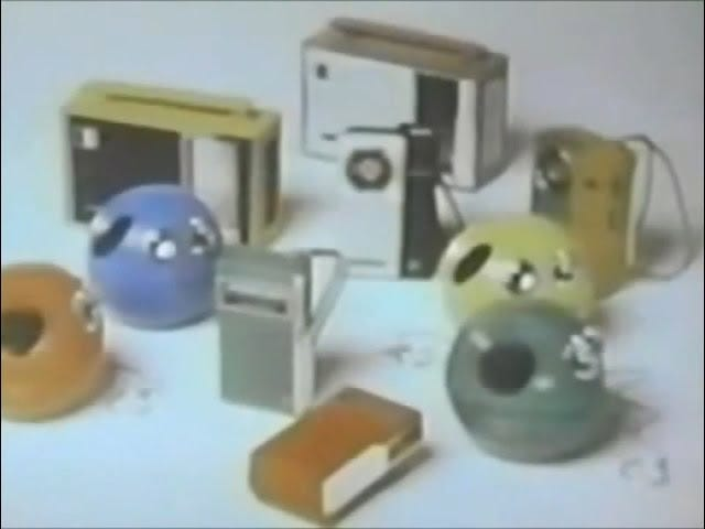 Panasonic Toot-A-Loop Radio and Crazy Color Portables