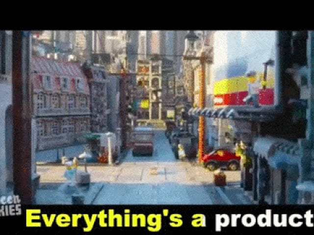 Allt är en produkt i hilarious, honest <i>The Lego Movie</i> trailer
