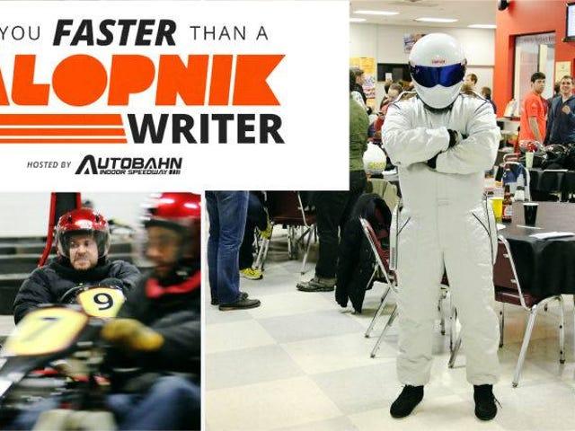 C'est votre rappel officiel de venir karting avec nous ce dimanche à New York!