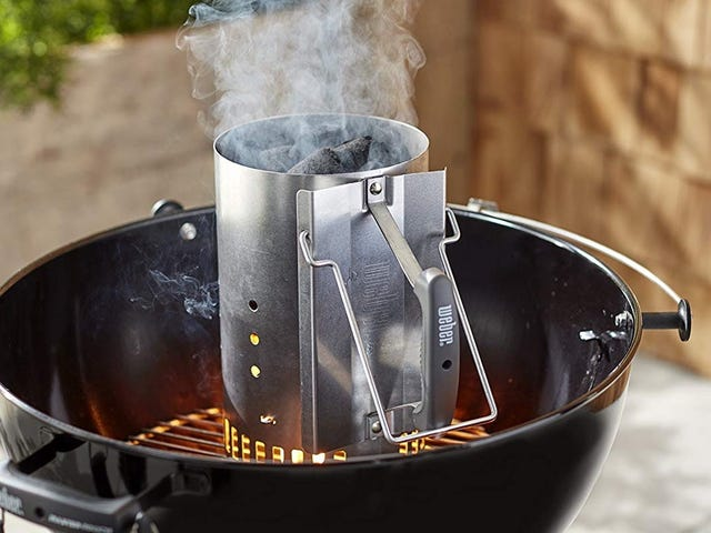 Save On Weber's Essential Chimney Starter, Just In Time For Your Fourth of July Barbecue