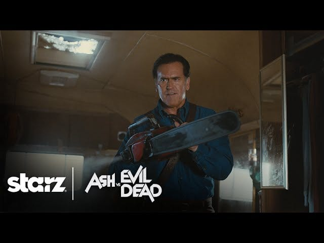 The Ash Vs. Evil Dead Trailer Is Bloody Perfection