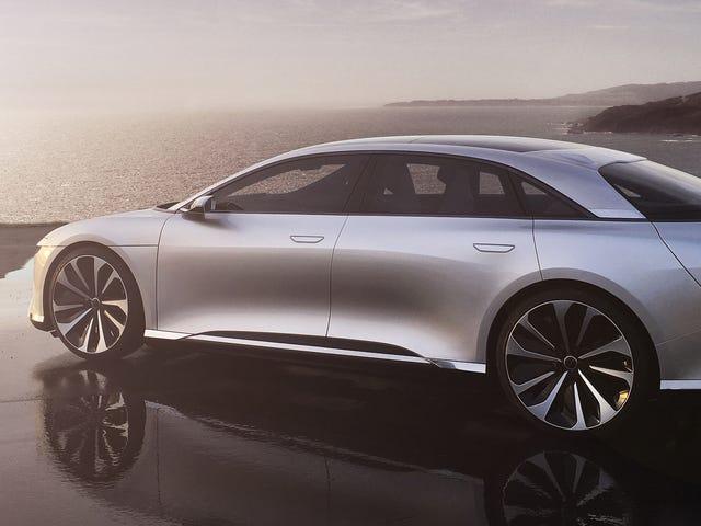 La Lucid Air vuole essere un elegante Tesla-Killer da 1000 HP
