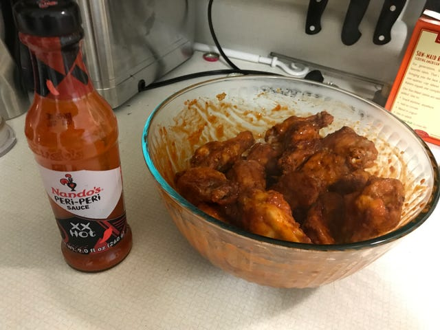 Made Some Wings With The Air Fryer
