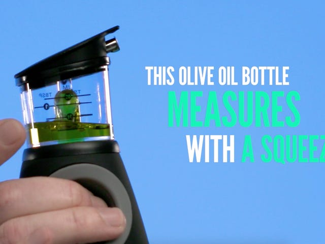 Vremi's $14 Olive Oil Bottle Measures Before You Pour