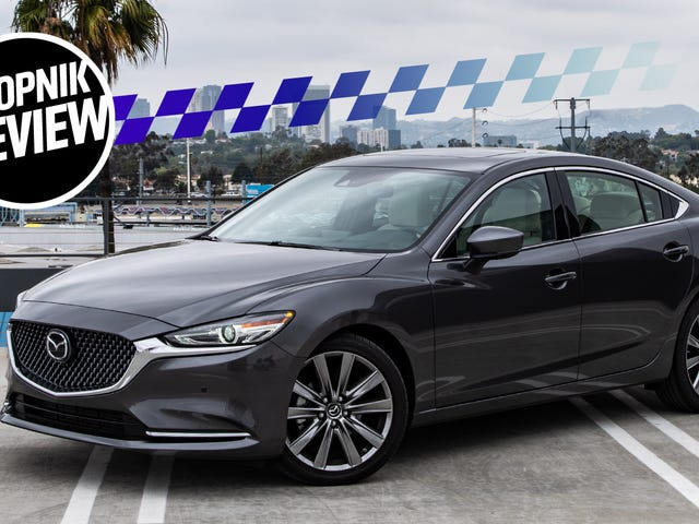 The Turbocharged 2018 Mazda 6 Is Nicer But It's No Four-Door Miata