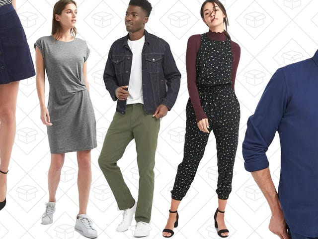 GAP's Huge Winter Sale Is Now Up to 75% Off, Plus an Extra 40% Off