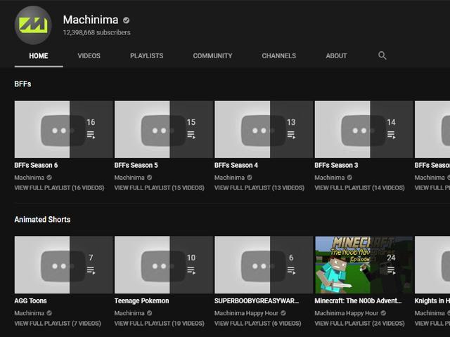 Seluruh Saluran YouTube Machinima Selesai Ke Swasta [UPDATE]
