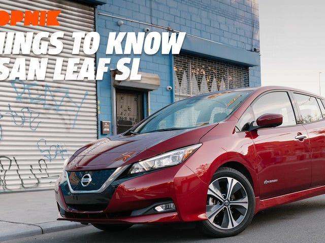 El Nissan Leaf 2018 tiene un misterioso túnel de transmisión y otras cuatro cosas que debes saber
