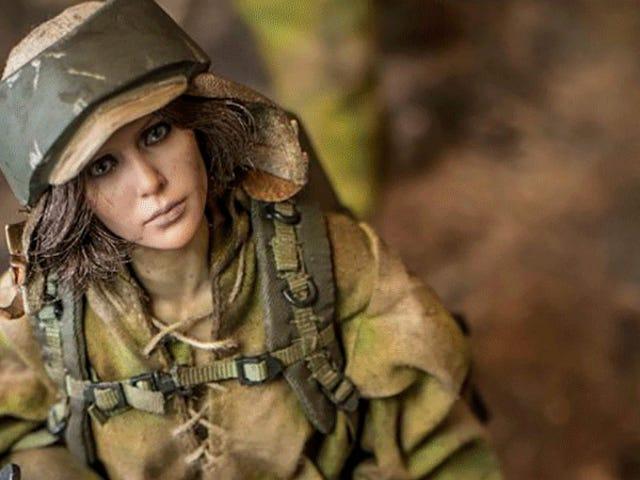 L'artiste crée Badass Battlefront , Killzone et Resident Evil Figures