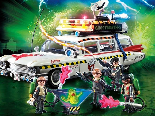 Playmobils <i>Ghostbusters II</i> leksaker gör faktiskt den skrämmande efterföljaren lite bättre