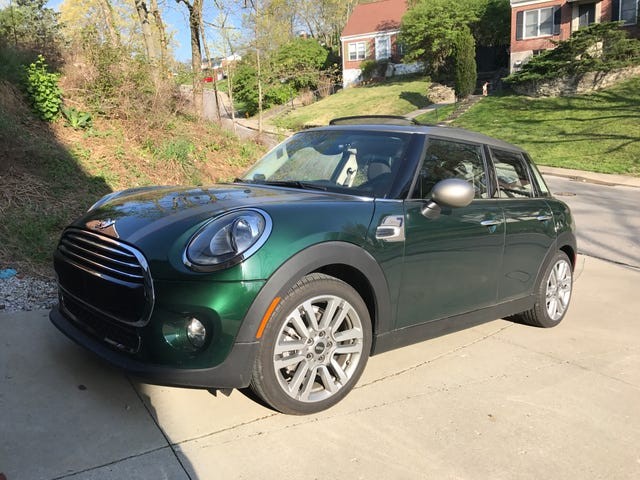 I have a '17 Mini Cooper for the Day. AMA