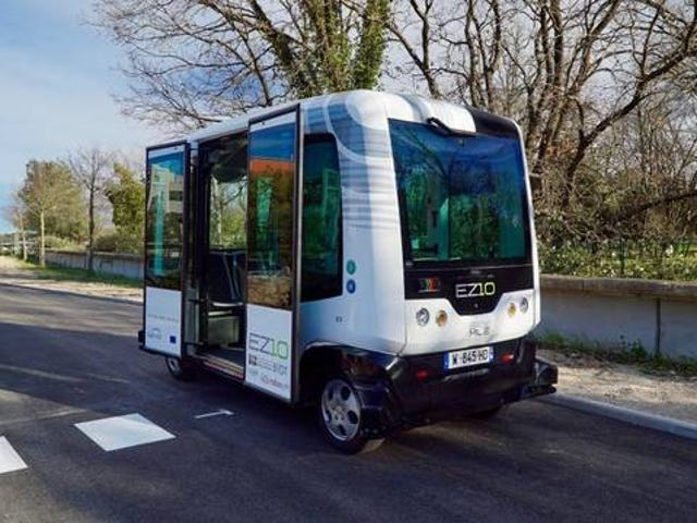 My town is testing driverless transportation tomorrow and the day after