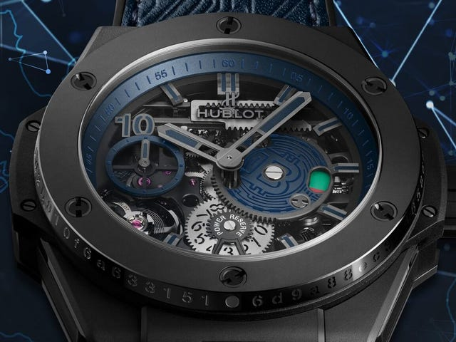 Hublot's $25,000 Bitcoin Watch Is Perfectly Designed to Help Me Spot Terrible Jabronis