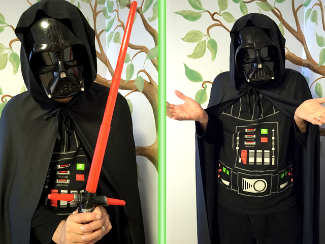 Puis-je m'habiller comme Dark Vador à la fête d'anniversaire d'un enfant de 5 ans sans terrifier tout le monde?