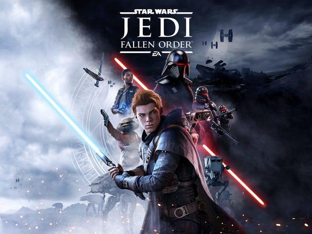 Här är vår första titt på Star Wars: Jedi Fallen Order Gameplay