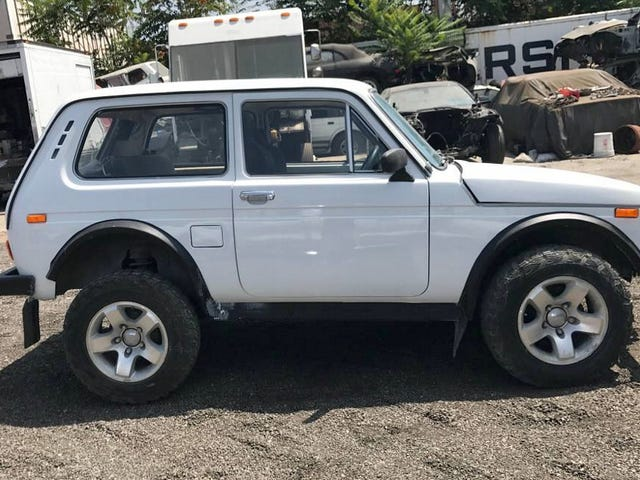 At $7,600, Could This Grey Market 1980 Lada Niva Have You Russian To Buy It?