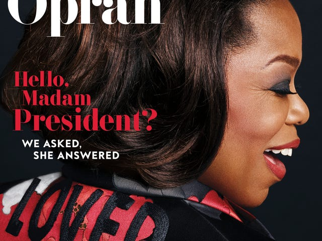 तुम जाओ, हे!  मार्च के इनस्टाइल पत्रिका में ओपरा डैज़ल्स