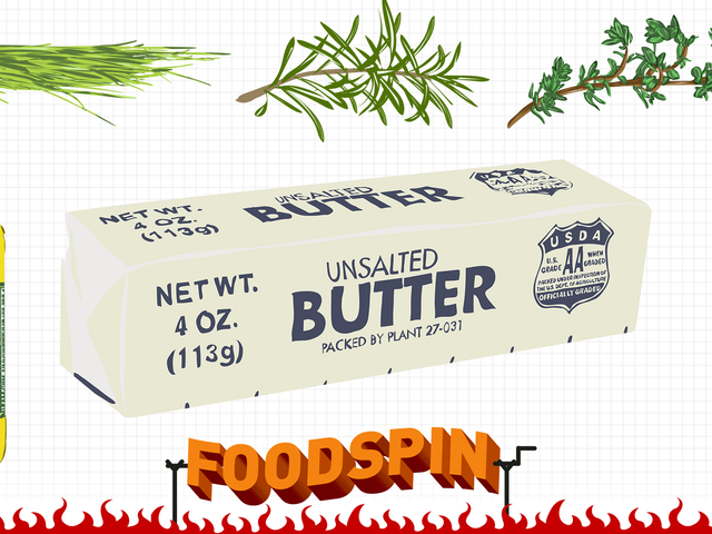 Faisons du beurre composé, parce que le beurre est bon et que cette merde est encore meilleure