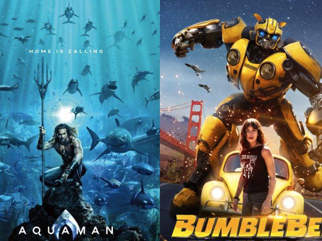 Aquaman y Bumblebee - Análisis Express de las dos películas