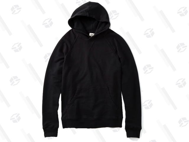 Stay Cozy In This Discounted French Terry Hoodie