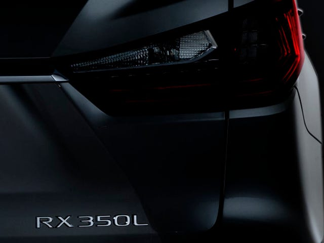 In a move that will shock you only because it took so long for it to happen, Lexus is adding a 3rd row to the RX
