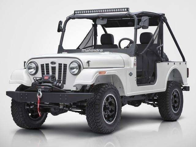 Hakim Mahindra Roxor Jeep'i İhlal Ediyor, Fiat Chrysler Stop-Sale Arayacak