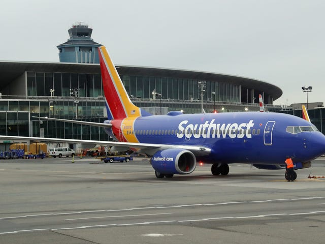Southwest Airlines Reportedly Under Investigation for Miscalculating Baggage Weight