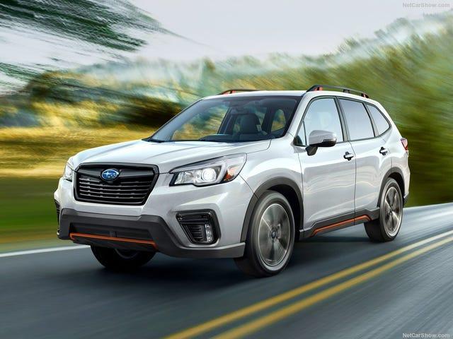 Subaru giữ nó an toàn với Forester 2019