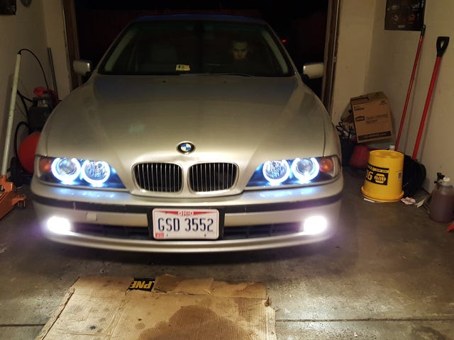 New E39 headlights