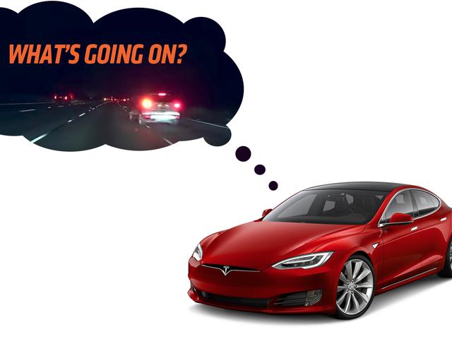 Moist, Warm Human Brain Saves Tesla's Ass When Autopilot Almost Wrecks